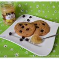 Cookies mit Lemon-Curd und Cranberries
