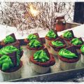 After Eight Cupcakes (anstatt Glückskeks ;))