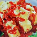 Cannelloni mit Tomaten