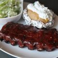 Barbecue Spareribs with Honey Glaze