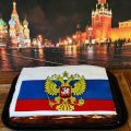 Russland Flagge Torte ♥