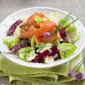 Rote-Bete-Salat mit Lachs